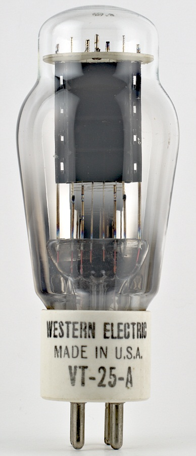 Western Electric VT-25-A Power Triode